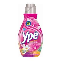 Suavizante Concentrado Ype 500ml Rinde 25 Lavados Pink
