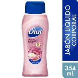 Gel De Ducha Hidratante Antibacterial Dial Minerales Rosados