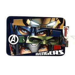 Alfombra Niño Avengers Pies De La Cama 40x60 Antideslizante