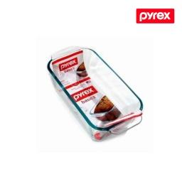 Budinera De Vidrio Pyrex 1.4 Lt tortera , horno y freezer