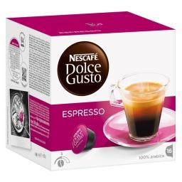 Cápsulas Dolce Gusto Nestlé 1 Caja X 16 Unidades Espresso