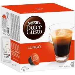 Cápsulas Dolce Gusto Nestlé 1 Caja X 16 Lungo (Café Largo)