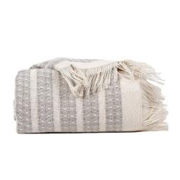 Manta para Sillon Throw 150x210 Pies de la Cama 100% Algodon