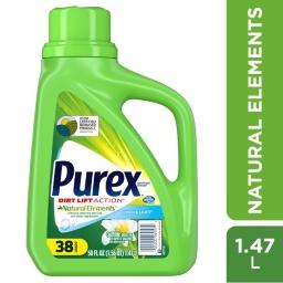 Jabón Ropa Concentrado Elementos Naturales Purex 38 Lavados