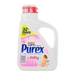 Jabón Concentrado Para Ropa De Bebe 1.47lts Purex 38 Lavados