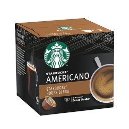 Cápsulas Starbucks Americano Dolce Gusto x 12 Sin Gluten