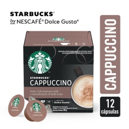 Cappuccino Dolce Gusto Starbucks x 12 Capsulas Sin Gluten
