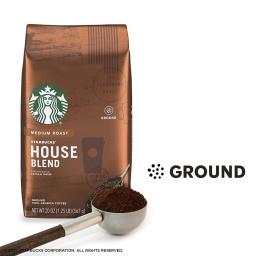 Café Starbucks Molido 250 gr House Blend Tostado Medio