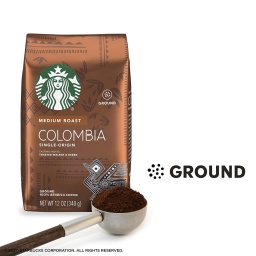 Café Starbucks Molido 250 gr Origen Colombia Tostado Medio
