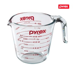 Jarra Medidora De Vidrio Pyrex 500Ml de Usa Vaso Medidor