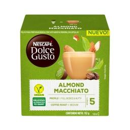 Capsulas Dolce Gusto Almendras Macchiato Almond Vegano x 12