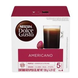 Capsulas Dolce Gusto Americano x 16 Cafe Largo Nescafe