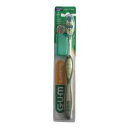 Cepillo de Dientes Medio Supreme GUM con limpiador Lingual 396
