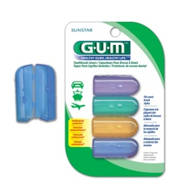 Tapa Protectoras para Cepillos Dentales Gum x 4 unidades