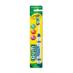 Cepillo De Dientes Para Niños 5+ Gum Crayola 227 Metálico