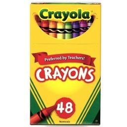 48 Crayones para Niños No Toxicas Crayola Colores Surtidos
