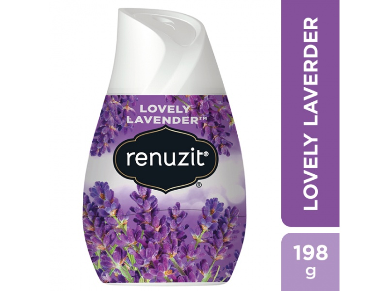Aromatizador Aroma Lavanda Renuzit con Gel 98% Biodegradable