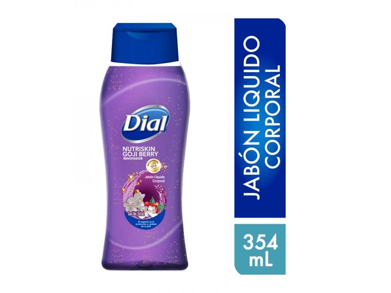 Gel De Ducha Antioxidante Goji Berry Dial Jabon Liquido